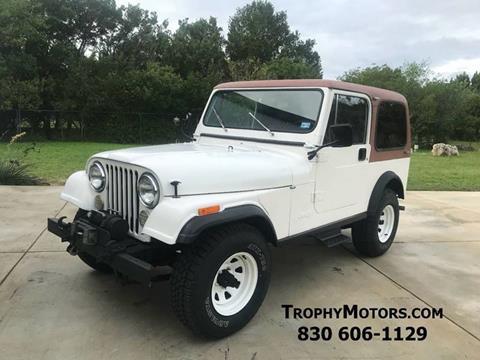1981 Jeep CJ-7 for sale in New Braunfels, TX