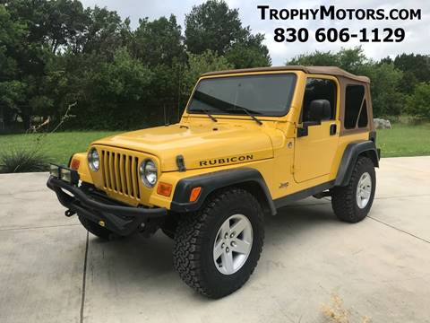 2005 Jeep Wrangler for sale in New Braunfels, TX