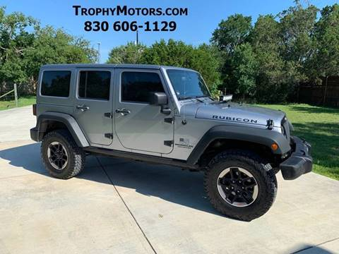 2013 Jeep Wrangler Unlimited for sale in New Braunfels, TX