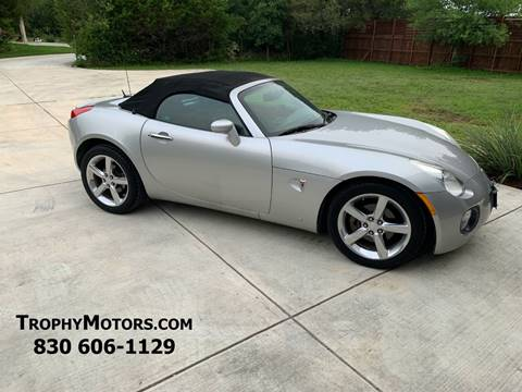 2009 Pontiac Solstice for sale in New Braunfels, TX