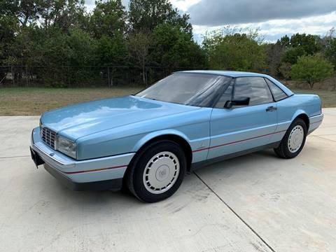 1989 Cadillac Allante for sale in New Braunfels, TX
