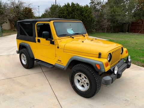 2006 Jeep Wrangler Unlimited for sale at TROPHY MOTORS in New Braunfels TX