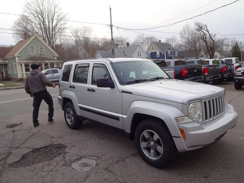 2008 Jeep Liberty For Sale At SKILLINGS AUTO SALES INC In Abington MA