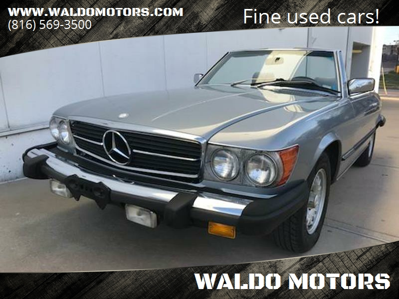 1981 Mercedes Benz 380 Class 380 SL 2dr Convertible   Kansas City MO