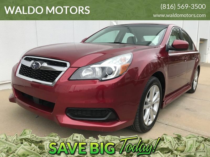 Subaru Kansas City >> 2014 Subaru Legacy Awd 2 5i Premium 4dr Sedan In Kansas City