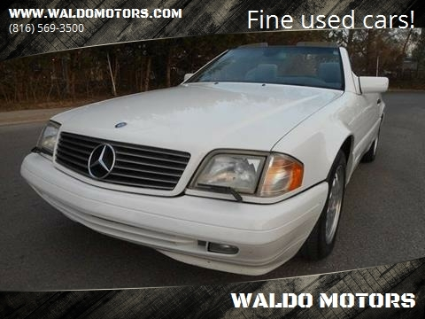 Mercedes Sl500 For Sale >> 1998 Mercedes Benz Sl Class For Sale In Kansas Cuty Mo