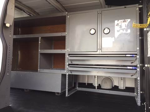 2007 ADRIAN SHELVING AND DROP DOWN LADDER  for sale in Canfield, OH