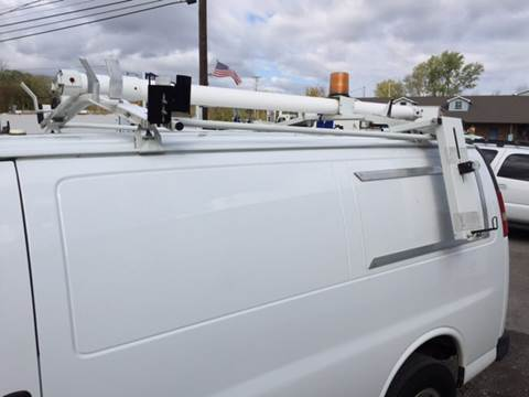 2007 WEATHER GUARD DOUBLE DROP DOWN LADDER RACK for sale in Canfield, OH
