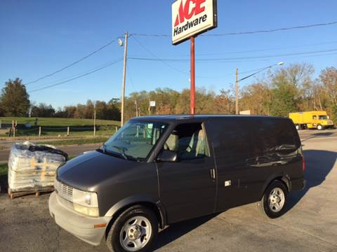 2004 Chevrolet Astro Cargo for sale in Canfield, OH