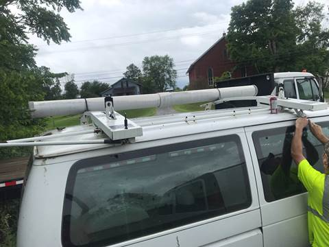 Adrian Drop Down Ladder Rack for sale in Canfield, OH