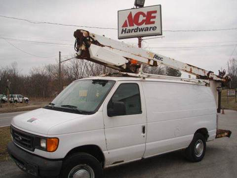 2004 Ford E-Series Cargo for sale at ACE HARDWARE OF ELLSWORTH dba ACE EQUIPMENT in Canfield OH