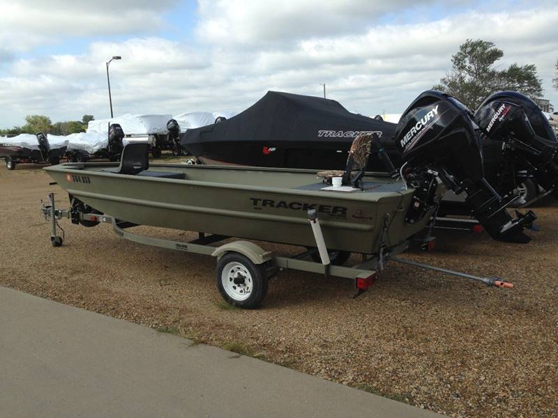 2013 Tracker 1648 Grizzly 16 ft In Tyndall SD - Tyndall Motors