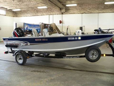 2004 Alumacraft MAGNUM 165 SC for sale in Tyndall, SD