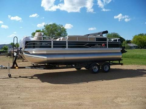 2018 SUNTRACKER FISHIN BARGE  for sale in Tyndall, SD