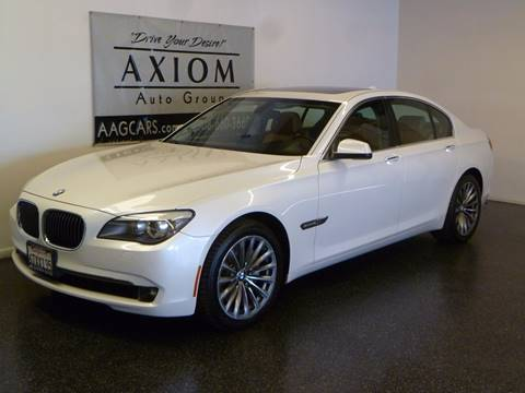 2012 BMW 7 Series for sale in Sunnyvale, CA