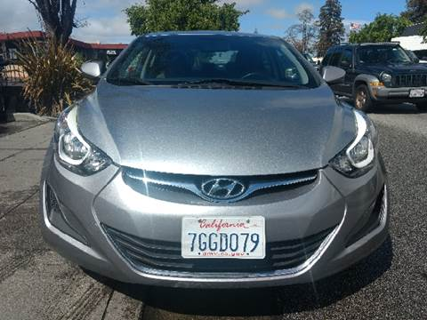 2014 Hyundai Elantra for sale at Auto City in Redwood City CA