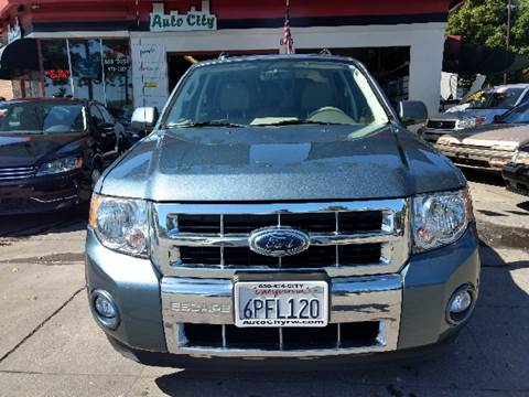 2010 Ford Escape Hybrid for sale at Auto City in Redwood City CA