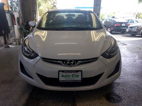 2015 Hyundai Elantra for sale at Auto City in Redwood City CA