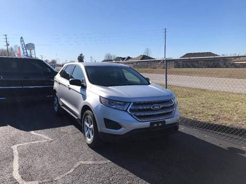 2017 Ford Edge SE for sale at Cars Across America in Republic MO