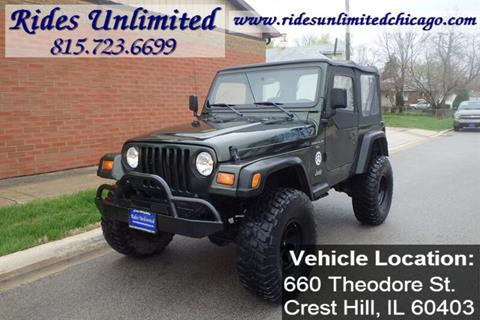 1998 Jeep Wrangler for sale in Crest Hill, IL
