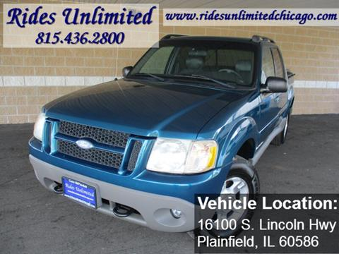 2002 Ford Explorer Sport Trac for sale in Crest Hill, IL