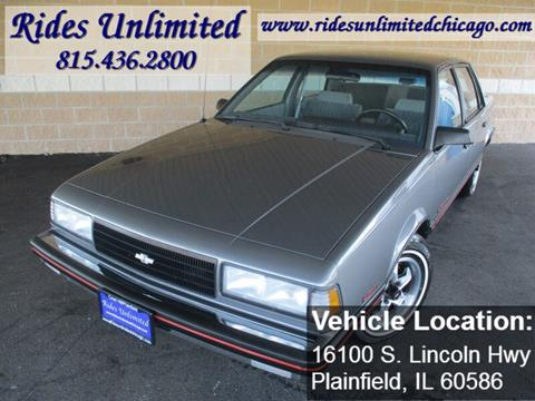 1988 Chevrolet Celebrity for sale in Crest Hill, IL