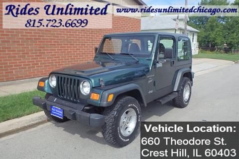 2000 Jeep Wrangler for sale in Crest Hill, IL