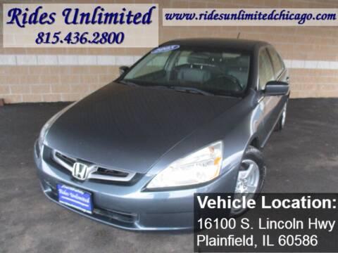 2005 Honda Accord for sale in Crest Hill, IL