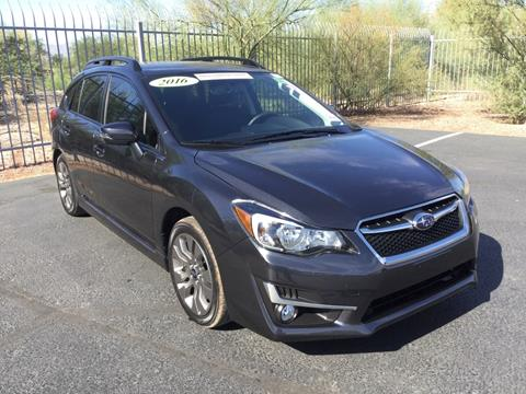 2016 Subaru Impreza for sale in Tucson, AZ