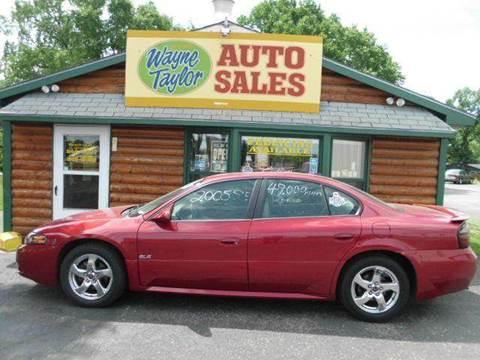 2005 Pontiac Bonneville for sale at Wayne Taylor Auto Sales in Detroit Lakes MN