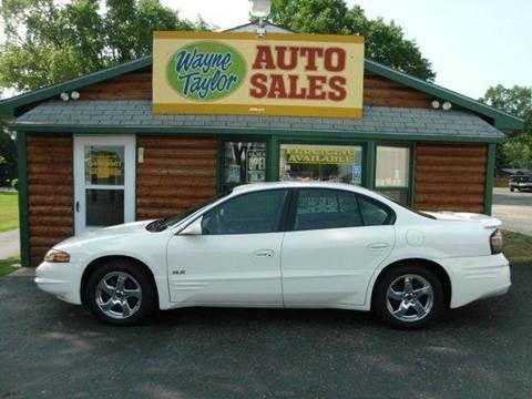 2004 Pontiac Bonneville for sale at Wayne Taylor Auto Sales in Detroit Lakes MN