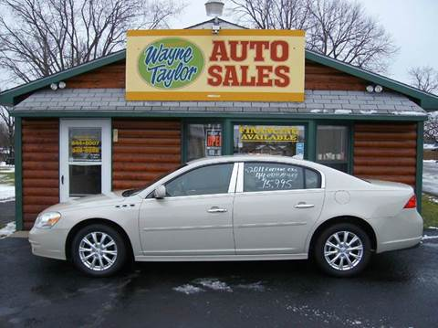 2011 Buick Lucerne for sale at Wayne Taylor Auto Sales in Detroit Lakes MN