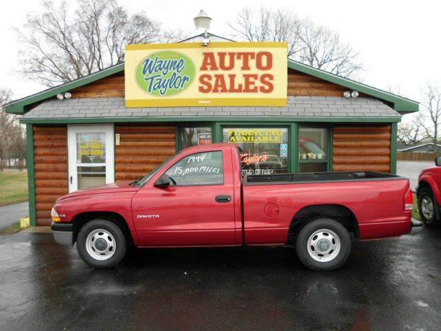 1998 Dodge Dakota for sale at Wayne Taylor Auto Sales in Detroit Lakes MN