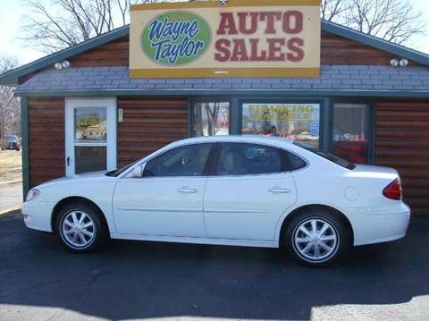 2005 Buick LaCrosse for sale at Wayne Taylor Auto Sales in Detroit Lakes MN