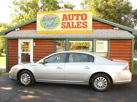 2006 Buick Lucerne for sale at Wayne Taylor Auto Sales in Detroit Lakes MN