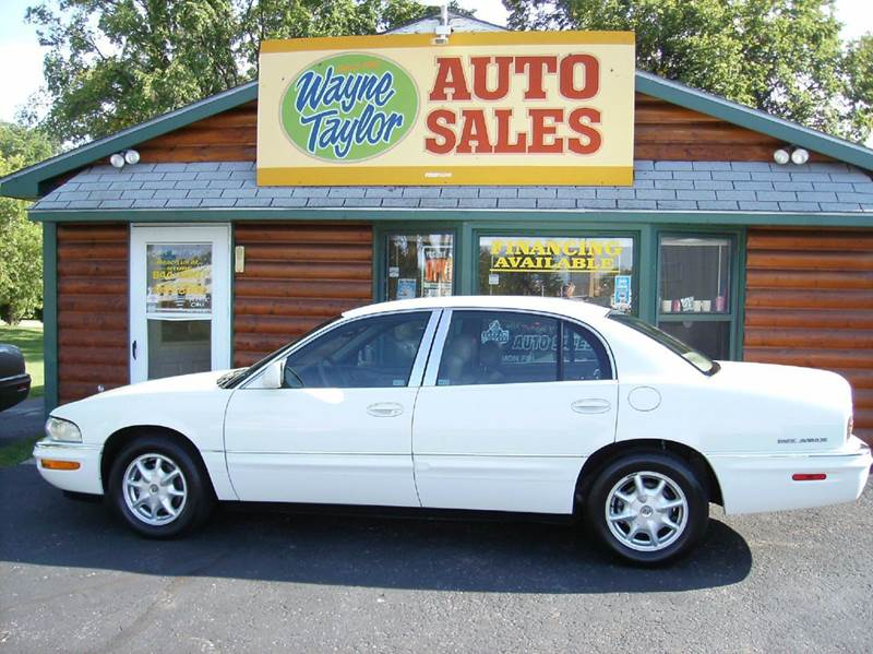 2002 Buick Park Avenue for sale at Wayne Taylor Auto Sales in Detroit Lakes MN