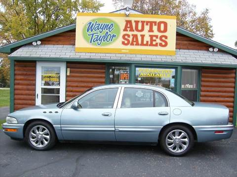 2004 Buick Park Avenue for sale at Wayne Taylor Auto Sales in Detroit Lakes MN