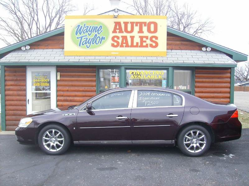 2008 Buick Lucerne for sale at Wayne Taylor Auto Sales in Detroit Lakes MN