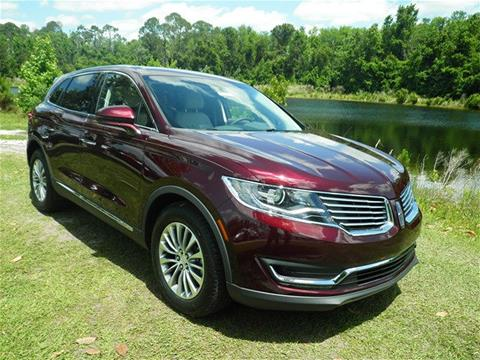 2018 Lincoln MKX for sale in Saint Augustine, FL