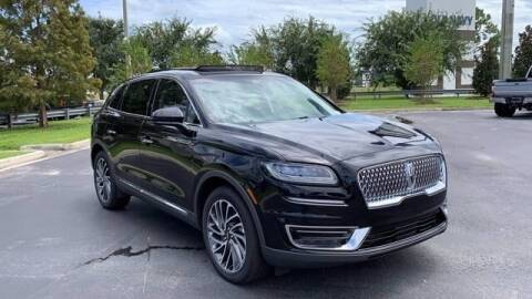 2020 Lincoln Nautilus for sale at BOZARD FORD Lincoln in Saint Augustine FL