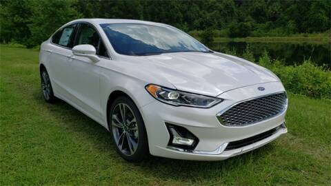 2020 Ford Fusion for sale at BOZARD FORD Lincoln in Saint Augustine FL
