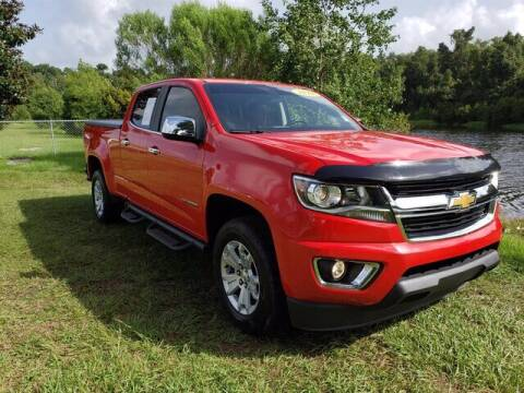 2018 Chevrolet Colorado for sale at BOZARD FORD Lincoln in Saint Augustine FL