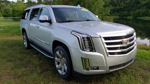 2020 Cadillac Escalade ESV for sale at BOZARD FORD Lincoln in Saint Augustine FL