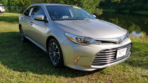 2016 Toyota Avalon for sale at BOZARD FORD Lincoln in Saint Augustine FL