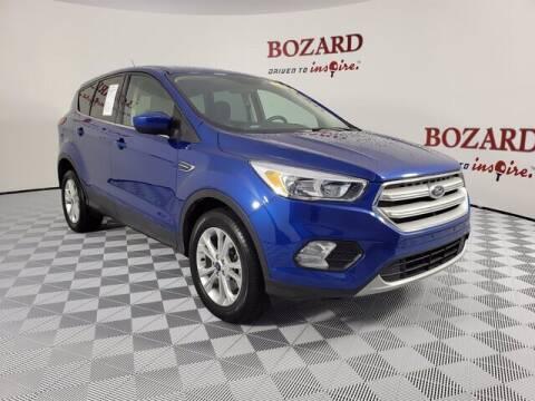 2019 Ford Escape for sale at BOZARD FORD Lincoln in Saint Augustine FL