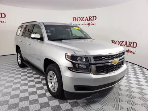 2018 Chevrolet Tahoe for sale at BOZARD FORD Lincoln in Saint Augustine FL