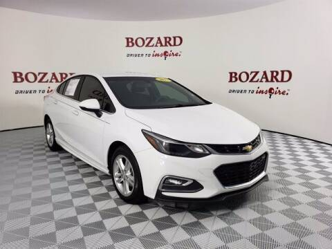 2017 Chevrolet Cruze for sale at BOZARD FORD Lincoln in Saint Augustine FL