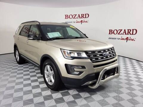 2017 Ford Explorer for sale at BOZARD FORD Lincoln in Saint Augustine FL