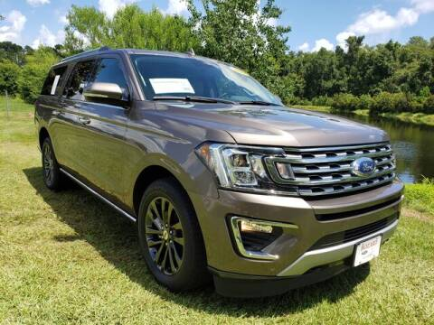 2019 Ford Expedition MAX for sale at BOZARD FORD Lincoln in Saint Augustine FL
