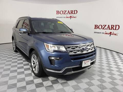 2018 Ford Explorer for sale at BOZARD FORD Lincoln in Saint Augustine FL
